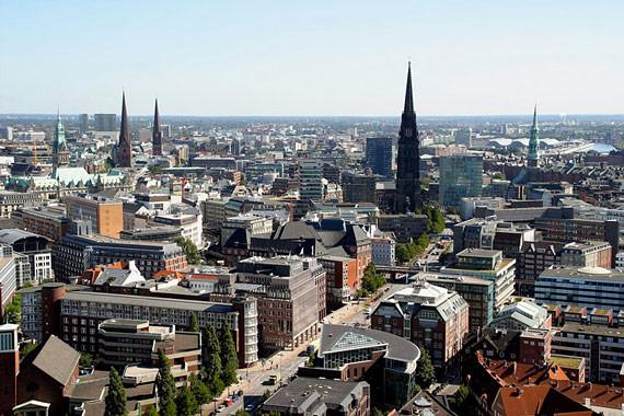 Hamburgo desde el cielo, Alemania