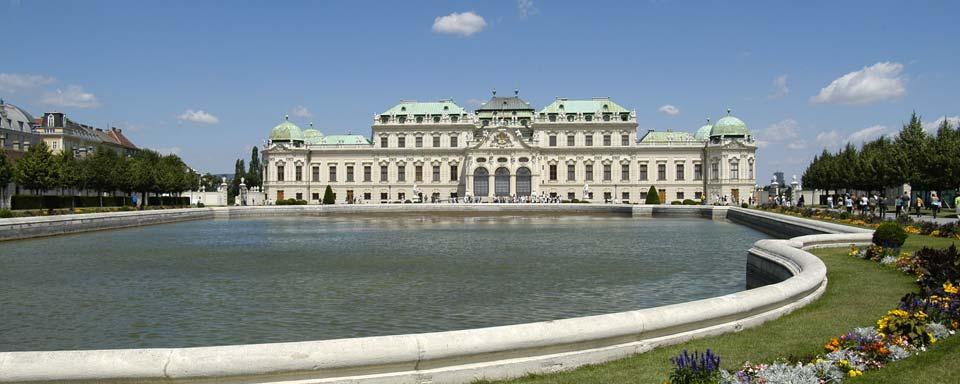El palacio del belvedere viena austria - El palacio del bebe ...