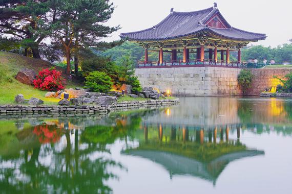 Gyeongju : El estanque Anapji - Corea del Sur