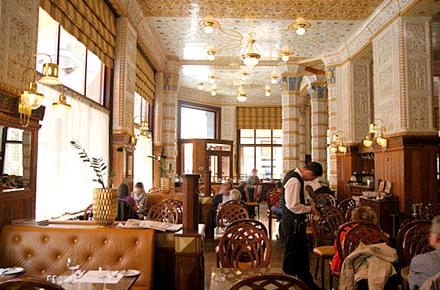 Al m s puro estilo art nouveau hoteles de ensue o for Decoracion art nouveau