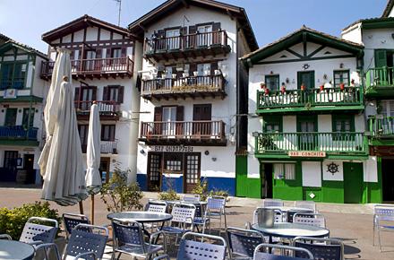 Hondarribia pa s vasco diez pueblos espa oles con encanto - Casas rurales con encanto pais vasco ...